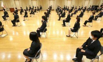 Japonya'da sosyal mesafe kuralı